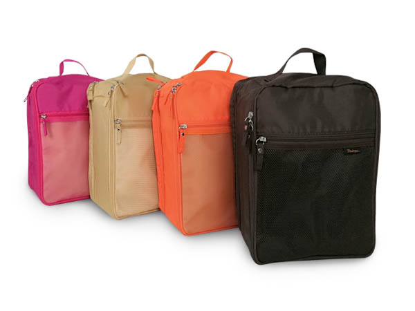 2-Partition Travel Shoes Bag